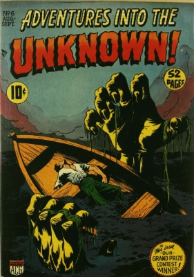 Click here to check values of Adventures Into the Unknown issue #6