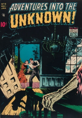 Click here to check values of Adventures Into the Unknown issue #8