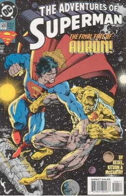 Origin and First Appearance, Massacre, Adventures of Superman #509, DC Comics, 1994. Click for value