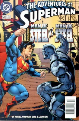 Origin and First Appearance, Anomaly, Adventures of Superman #539, DC Comics, 1996. Click for value