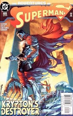 Origin and First Appearance, Preus, Adventures of Superman #625, DC Comics, 2004. Click for value