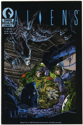 Aliens #1 (1988): 1st Solo Aliens Comic. Click for value