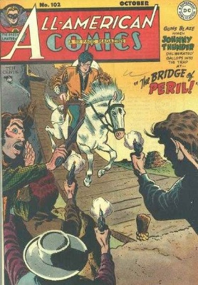 All-American #102: last issue before becoming a western. Click for value