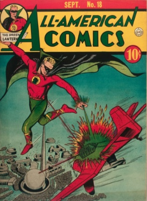 All-American #18, 3rd appearance of the Green Lantern. Click for values
