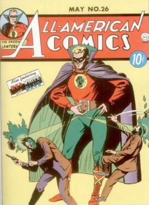 All-American Comics #26: First Appearance, Saragon the Sorcerer. Click for values