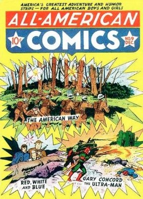All-American Comics #9. Click for current values.