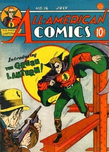 All-American Comics #16: Origin and First Appearance of The Green Lantern