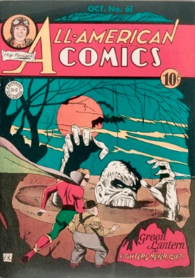 Origin and First Appearance, Solomon Grundy, All-American Comics #61, DC Comics, 1944. Click for value