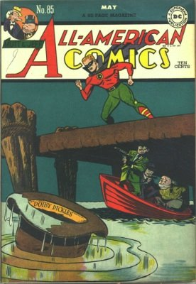Origin and First Appearance, Sportsmaster, All-American Comics #85, May, 1947. Click for value
