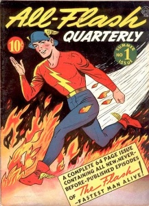 Golden Age All-Flash Quarterly #1. Click for values