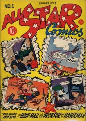 All-Star Comics #1: A Beginning. Click for values
