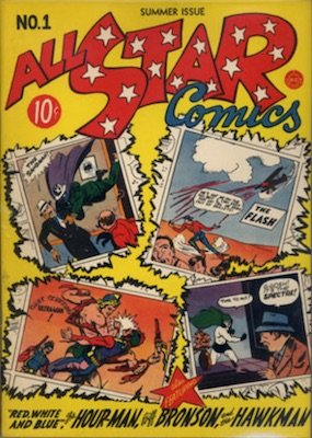 All-Star Comics #1: rare first issue. Click for values