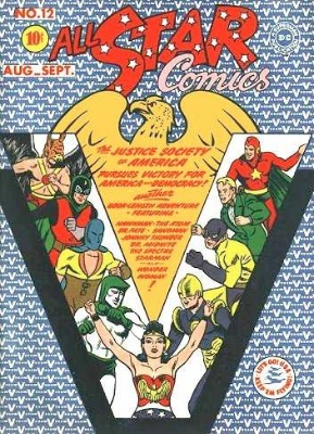 Click to check the value of the Golden Age comic, All-Star Comics #12