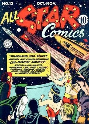 All-Star Comics #13: Sandman and Sandy appearance. Click for values.