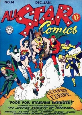 Click to check the value of the Golden Age comic, All-Star Comics #14