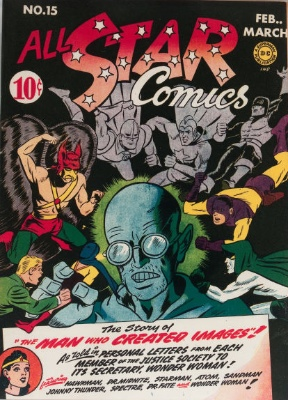 Click to check the value of the Golden Age comic, All-Star Comics #15