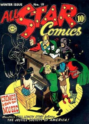All-Star Comics #19 : Sandman and Sandy appearance. Click for values.