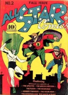 All-Star Comics #2: Flash, Johnny Thunder, Green Lantern feature. Click for values
