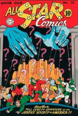 Click to check current values for All-Star comics #23