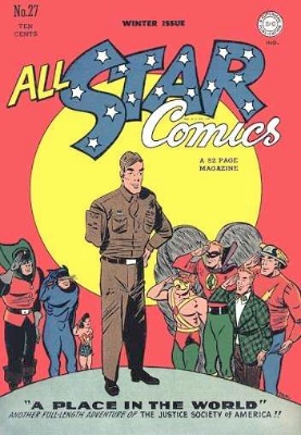Click to check current values for All-Star comics #27