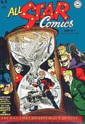 Origin and First Appearance, Per Degaton, All-Star Comics #35, June, 1947. Click for value