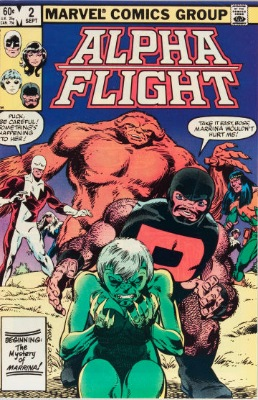Origin and First Appearance, Master of the World, Alpha Flight #2, Marvel Comics, 1983. Click for value