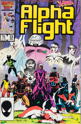 #15: Lady Deathstrike, Alpha Flight #33, CGC 9.8, $100. Click for values