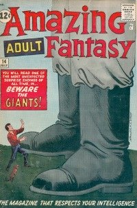 Amazing Adult Fantasy #14was the last issue with Adult in the title, before the final Amazing Fantasy #15 and Spider-Man. Click for current market value.