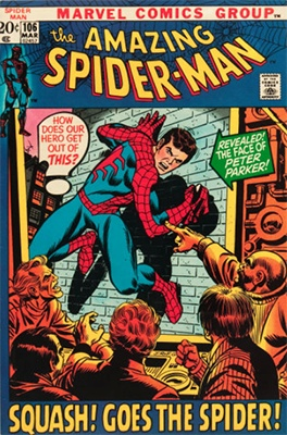 Click here to find out the value of Amazing Spider-Man #106