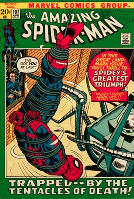 Click here to find out the value of Amazing Spider-Man #107