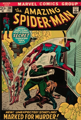 Click here to find out the value of Amazing Spider-Man #108
