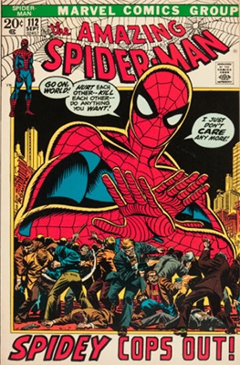 Click here to find out the value of Amazing Spider-Man #112