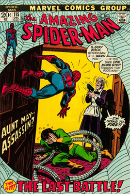 Click here to find out the value of Amazing Spider-Man #115