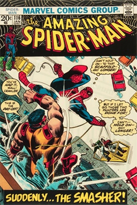 Click here to find out the value of Amazing Spider-Man #116