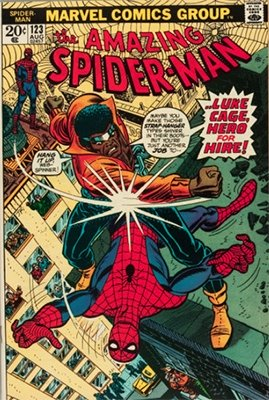 Amazing Spider-Man #123, Luke Cage appearance. Click here to see current values