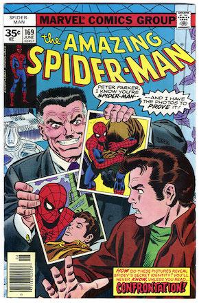 Amazing Spider-Man #169 35 Cent Price Variant