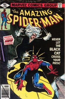 Black Cat's first appearance was in Amazing Spider-Man #194. Click for values