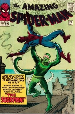 The Scorpion (Amazing Spider-Man #20). Click for values