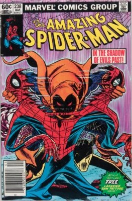 Spider-Man Villains: The Hobgoblin (Amazing Spider-Man #238, March, 1983). Click for values