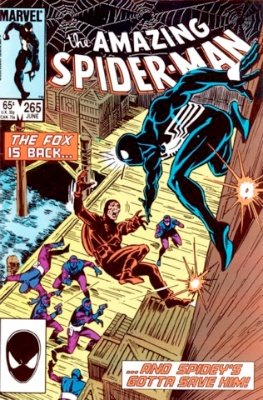 Silver Sable (First Appearance: Amazing Spider-Man #265, June, 1985). Click for value