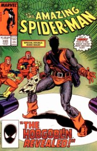 Amazing Spider-Man #289 value: Hobgoblin (Ned Leeds) dies