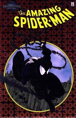 Amazing Spider-Man #300, Chromium cover edition, published in 1998. Click for value