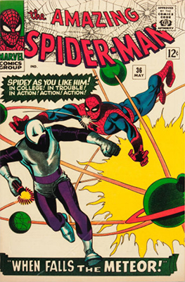 Amazing Spider-Man #36: 1st Looter. Click for values