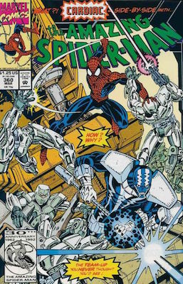 Amazing Spider-Man #360: 1st Cameo appearance of Carnage Marvel Comics. Click for values