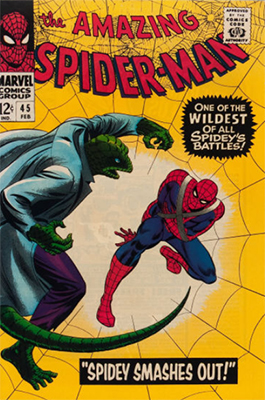 Click here to find out the current market values of Amazing Spider-Man #45