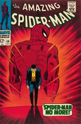 Hot Comics #15: Amazing Spider-Man #50, 1st Kingpin. Click to buy a copy