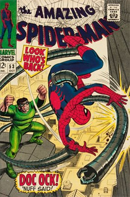 Click here to find out the current market values of Amazing Spider-Man #53
