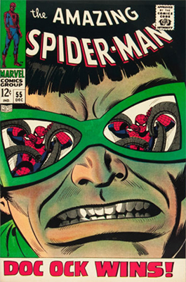 Click here to find out the current market values of Amazing Spider-Man #55