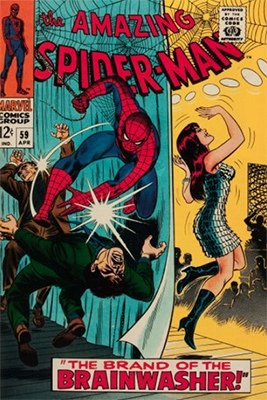 Click here to find out the current market values of Amazing Spider-Man #59