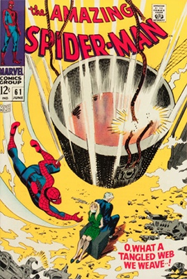 Click here to check the value of Amazing Spider-Man #61